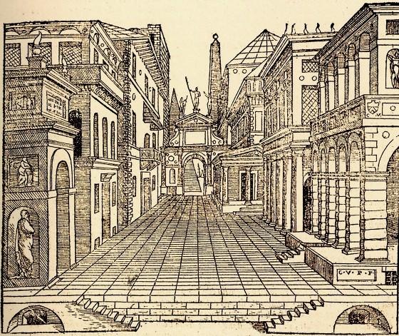 Sebastiano Serlio 悲劇の景色