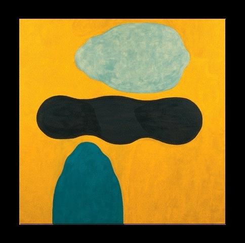 - APPAGATO - olio e cera su tela, cm 200 x 200, anno 1998