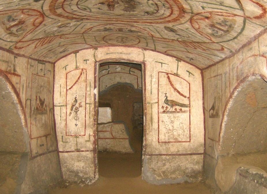 WCENTER 0REDABELNZ - catacombe vigna randanini cubicolo 7 - larcan - -